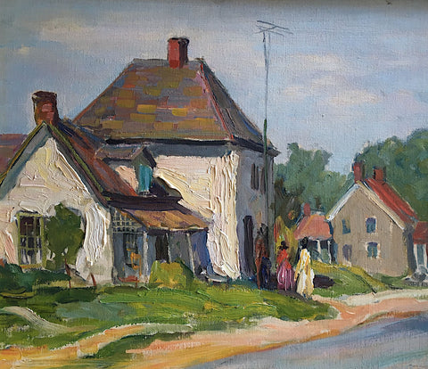 "GEORGE ALFRED PAGINTON, ""NEAR PORT HOPE"" 1945"
