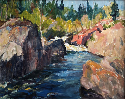 "GEORGE ALFRED PAGINTON ""ROCKY GORGE"" 1968"