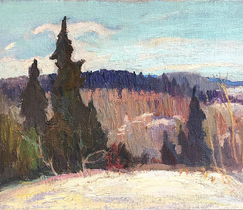 "GEORGE ALFRED PAGINTON ""TYPICAL NORTHERN ONTARIO"" CIRCA 1930"