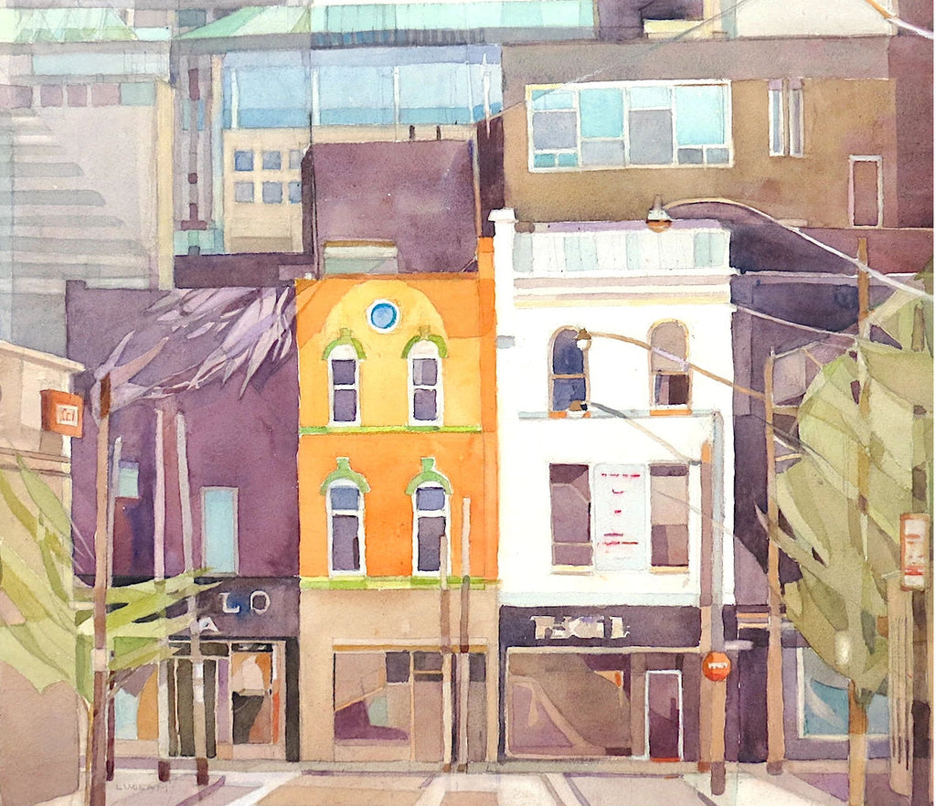 "MARY ANNE LUDLAM ""WHERE McCAUL MEETS QUEEN TORONTO, ON"" 2014"