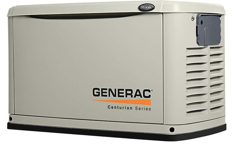 Generac Guardian 22Kw Backup Generator With Whole House Switch
