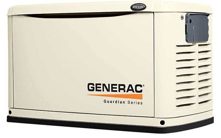Generac Guardian 20Kw Backup Generator With Whole House Switch