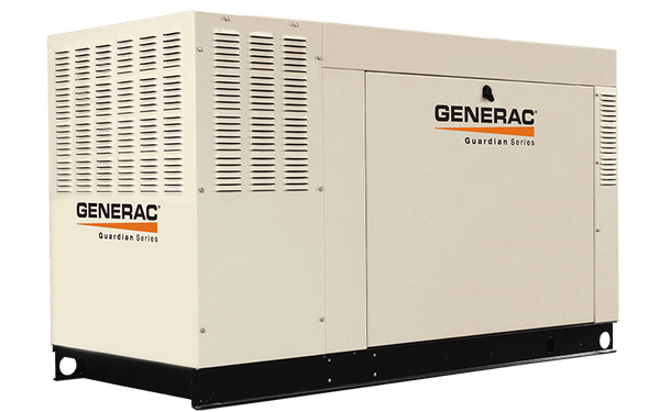 Generac Guardian 45Kw Backup Generator With Whole House Switch
