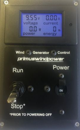 Primus Wind Control Panel (Digital)