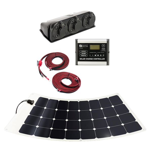 Zamp Flex 100 Watt Solar Kit