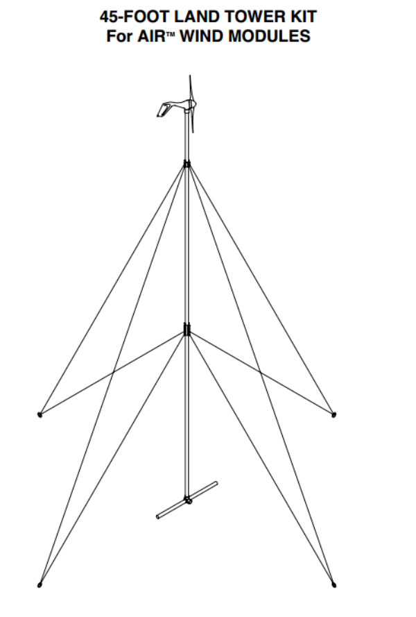 Primus Air Guyed Tower Kit 45'