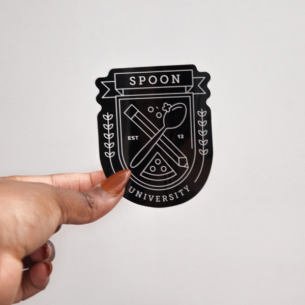 Spoon Crest Stickers (Set of 20)