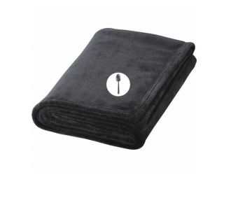 Plush Blanket w/Spoon Logo