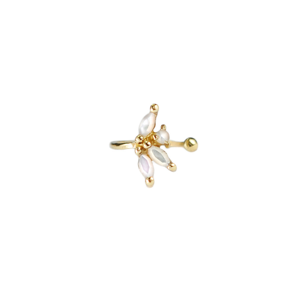 Laurie Fleming Anais Conch Ear Cuff, Gold