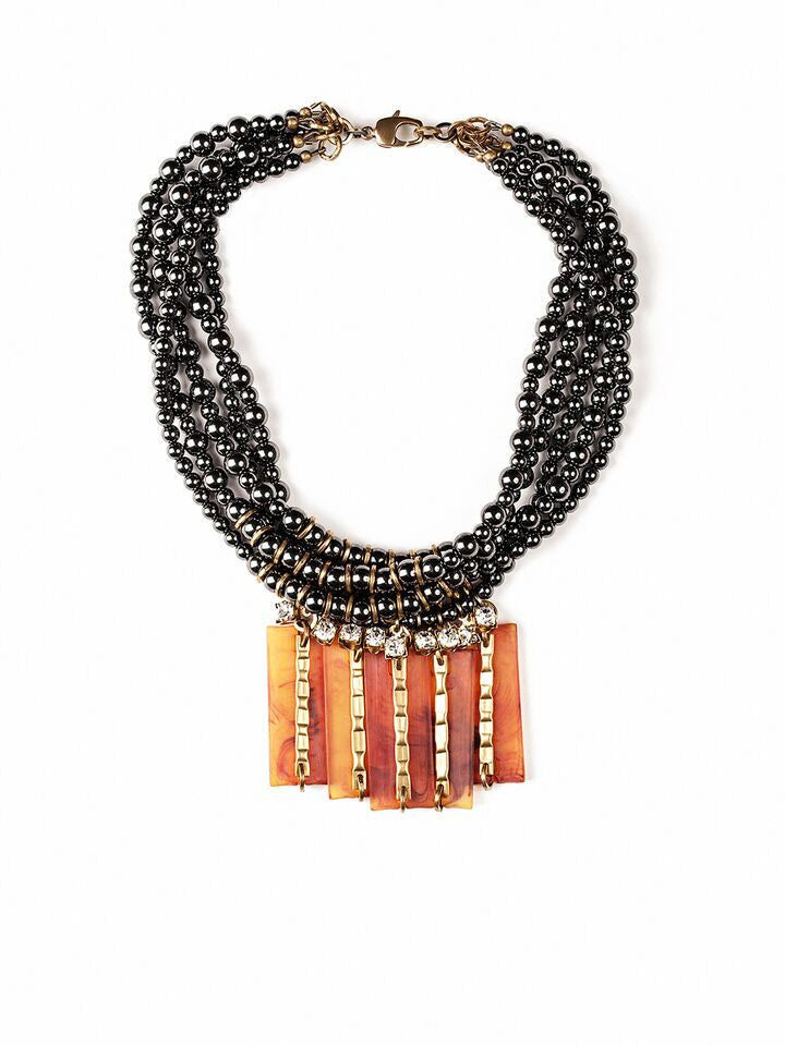 Michelle Ross Rosa Necklace