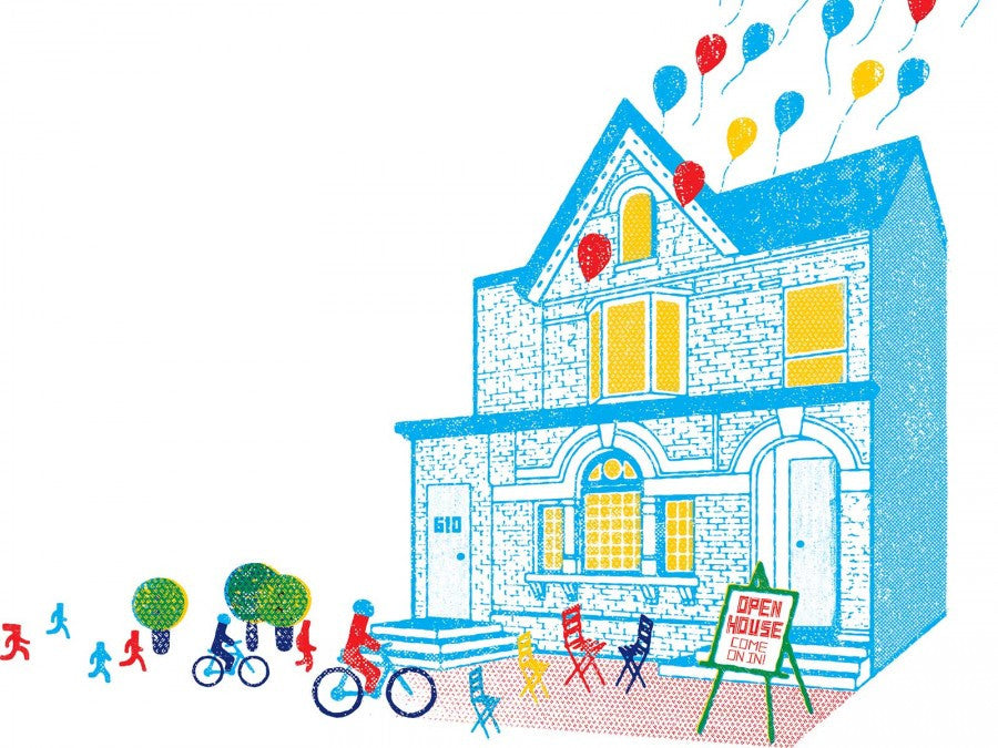 BIKE MONTH with CURBSIDE and MARKHAM HOUSE