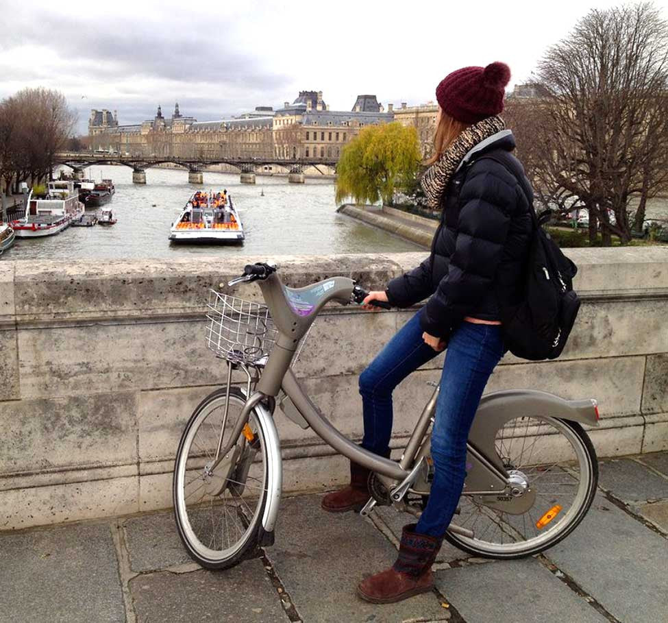The Paris Velib. A test ride.