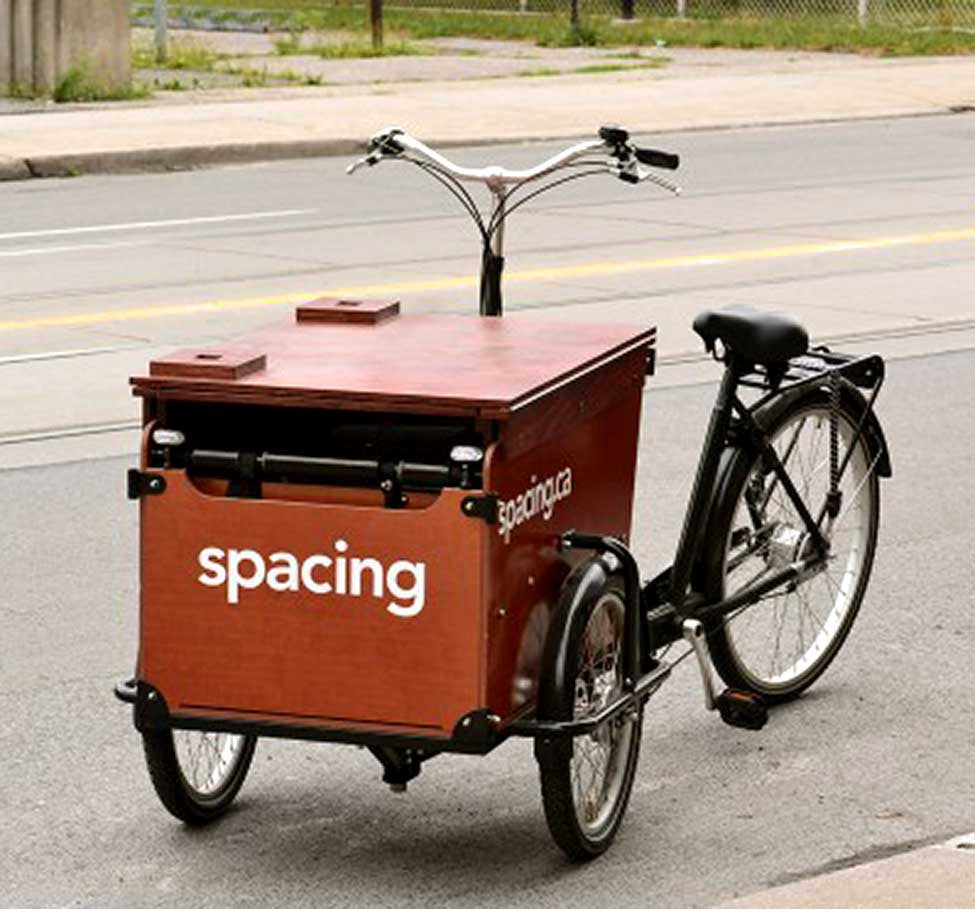 Business solutions: the Spacing Cargo BIke