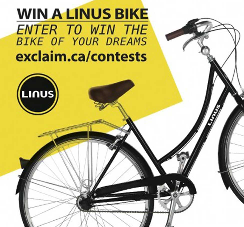 Event: Win a Linus! in Exclaim! magazine!