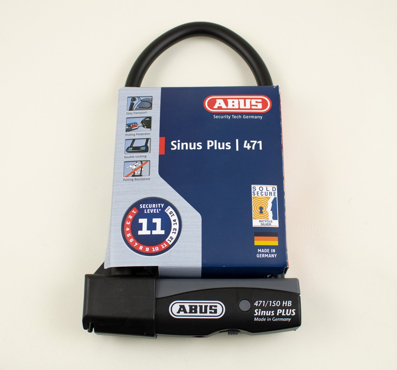 Abus Sinus Plus 471 Security u-Lock