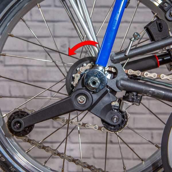 Brompton Chain Tensioner Removal