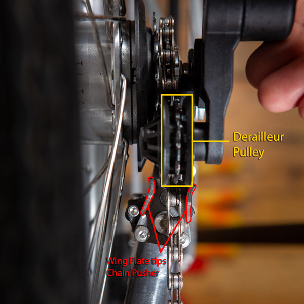 Brompton Chain Tensioner Assembly Terminology