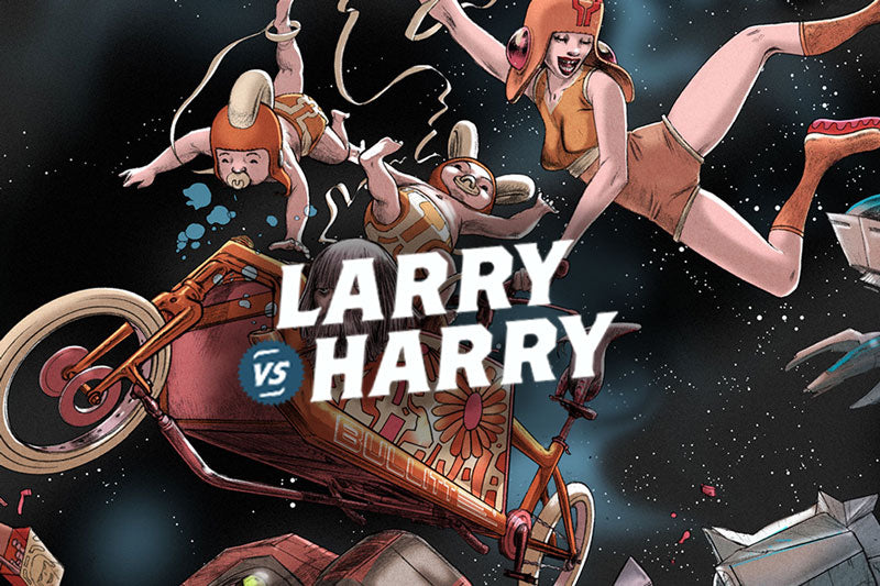 Larry vs Harry Brand Image