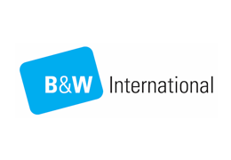 B and W International Logo