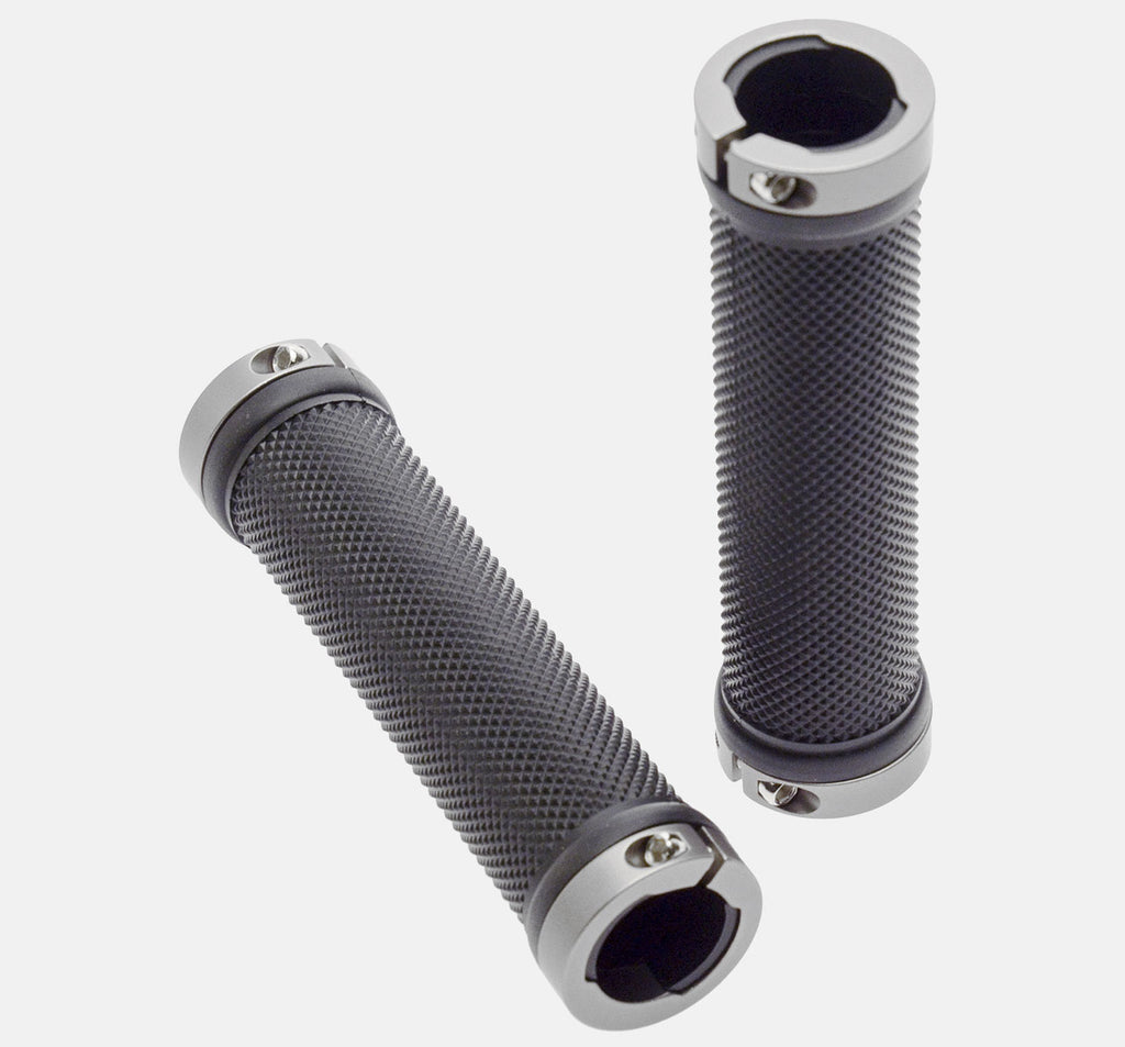 49N Apex Lock-On Bicycle Grips - Black