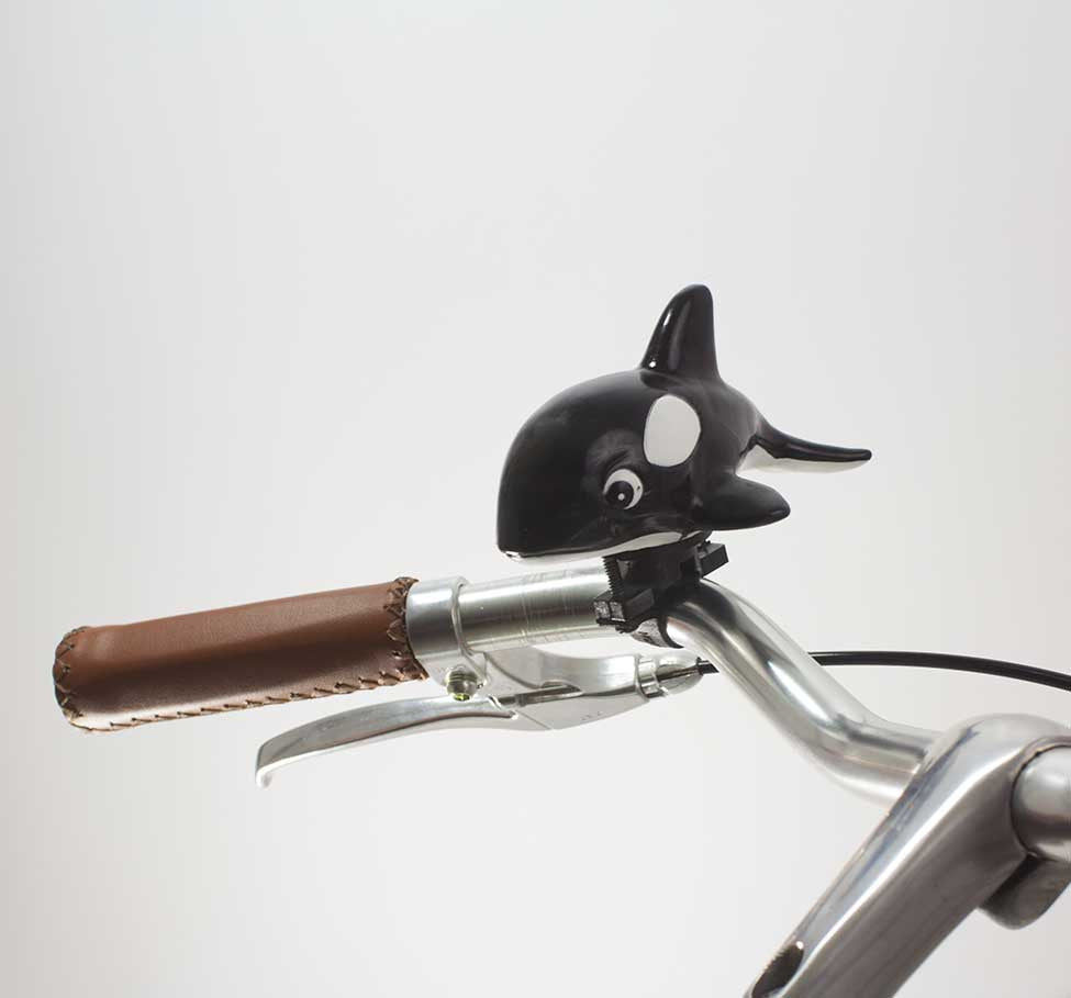 49N ORCA WHALE BICYCLE HORN