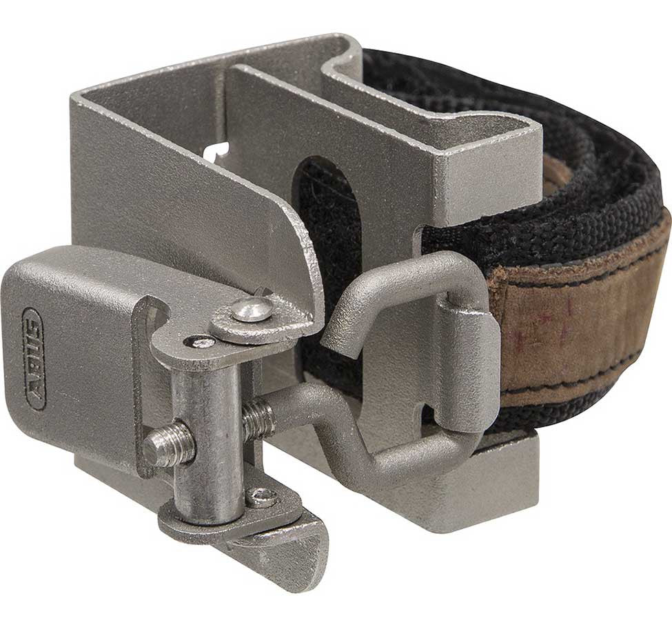 ABUS BRODO CENTIUM STAINLESS STEEL FOLDING LOCK BRACKET