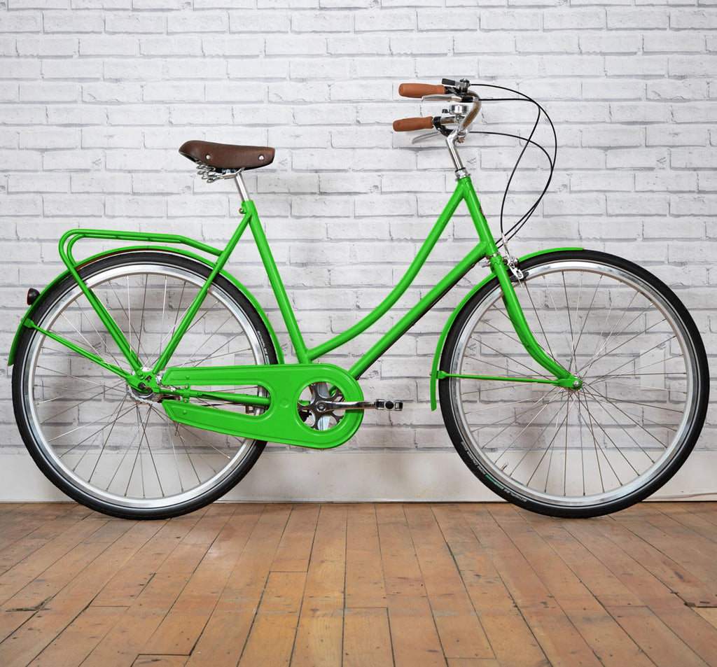 Achielle Babette Oma Dutch Bike in Apple Green
