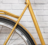Achielle Babette Step-Through Dutch Bike in Mustard Gold