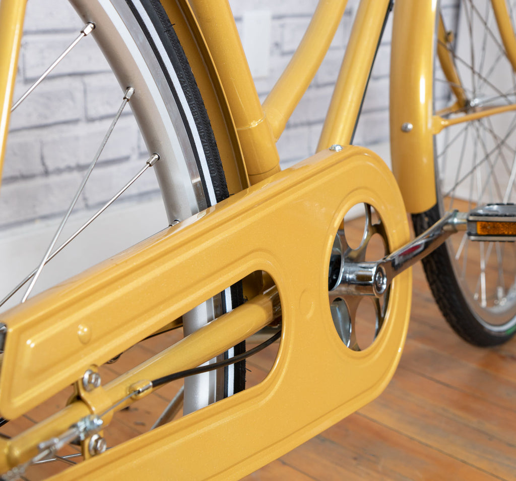 Achielle Babette Oma Dutch Bike in Mustard Gold
