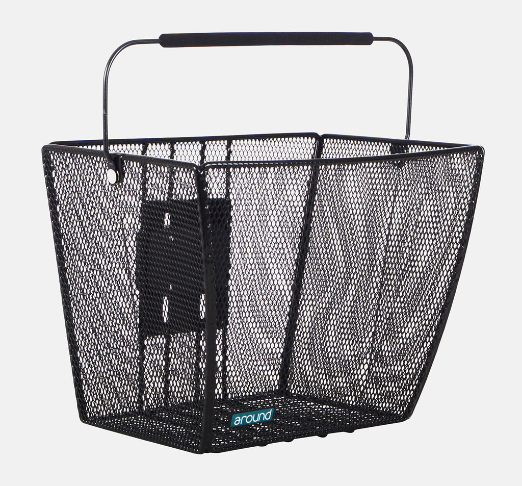 Around Ace Removable Front Basket in Black