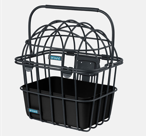 COLLEGE ALUMINUM REAR BASKET - REMOVABLE