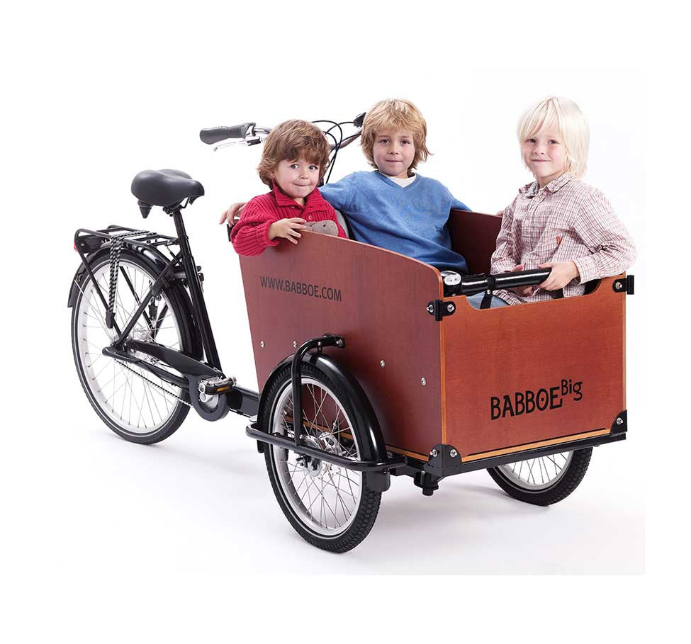 Babboe Big Three Wheeled Cargo Bike