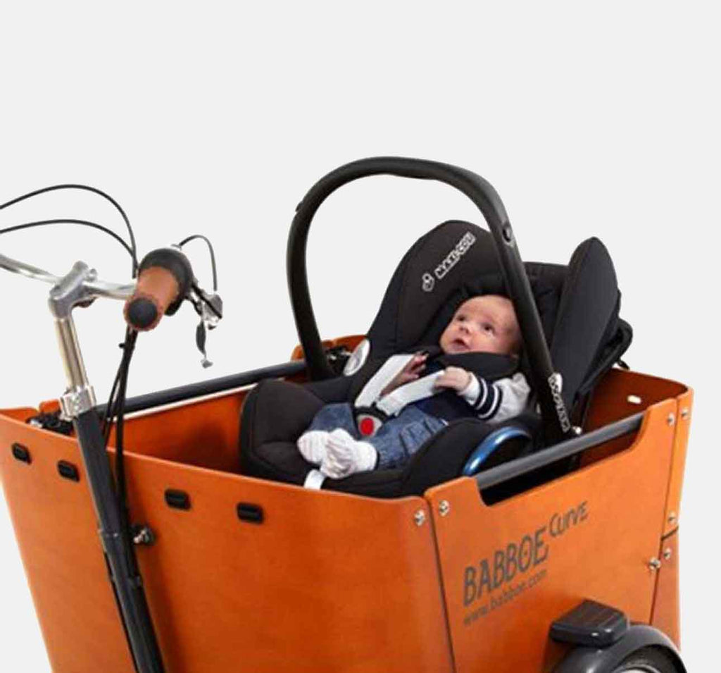 Maxi Cosi Seat Carrier For The Babboe Curve Curbside Cycle Seal Harness