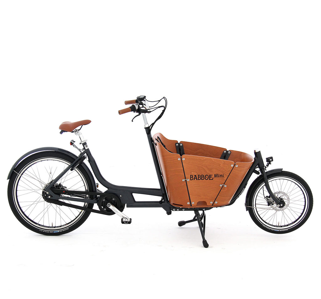 Babboe Mini Mountain Yamaha E-Assist Cargo Bike Side Profile