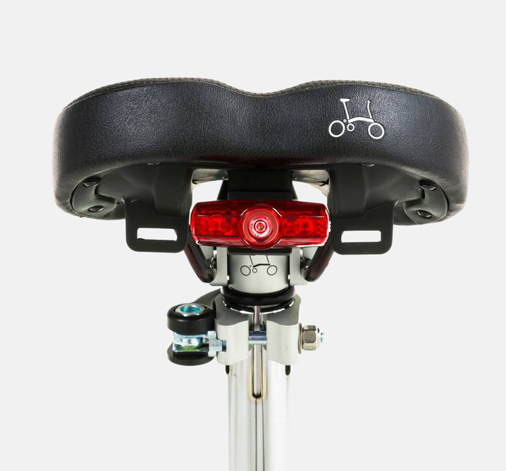 CATEYE REAR USB LIGHT - SADDLE MOUNTED