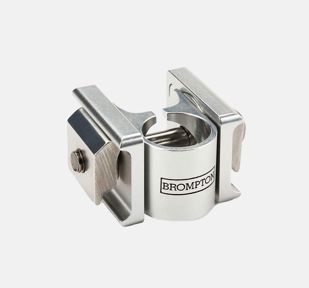 Brompton Pentaclip Saddle Clamp In Silver