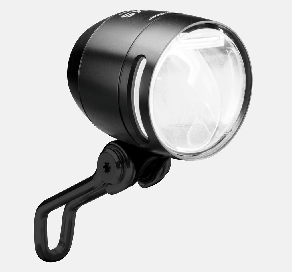 Busch & Muller Lumotec IQ-XS-E Front E-Bike Light in Black
