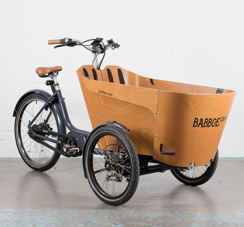 E-BULLITT - STEPS E8000 - BIKE WITH CARGO PACK