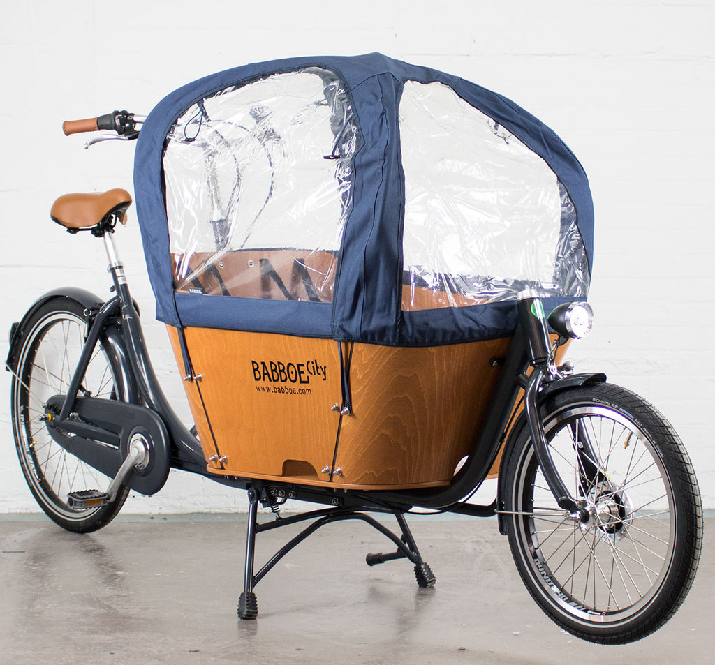 Babboe City Rain Tent in Navy Blue