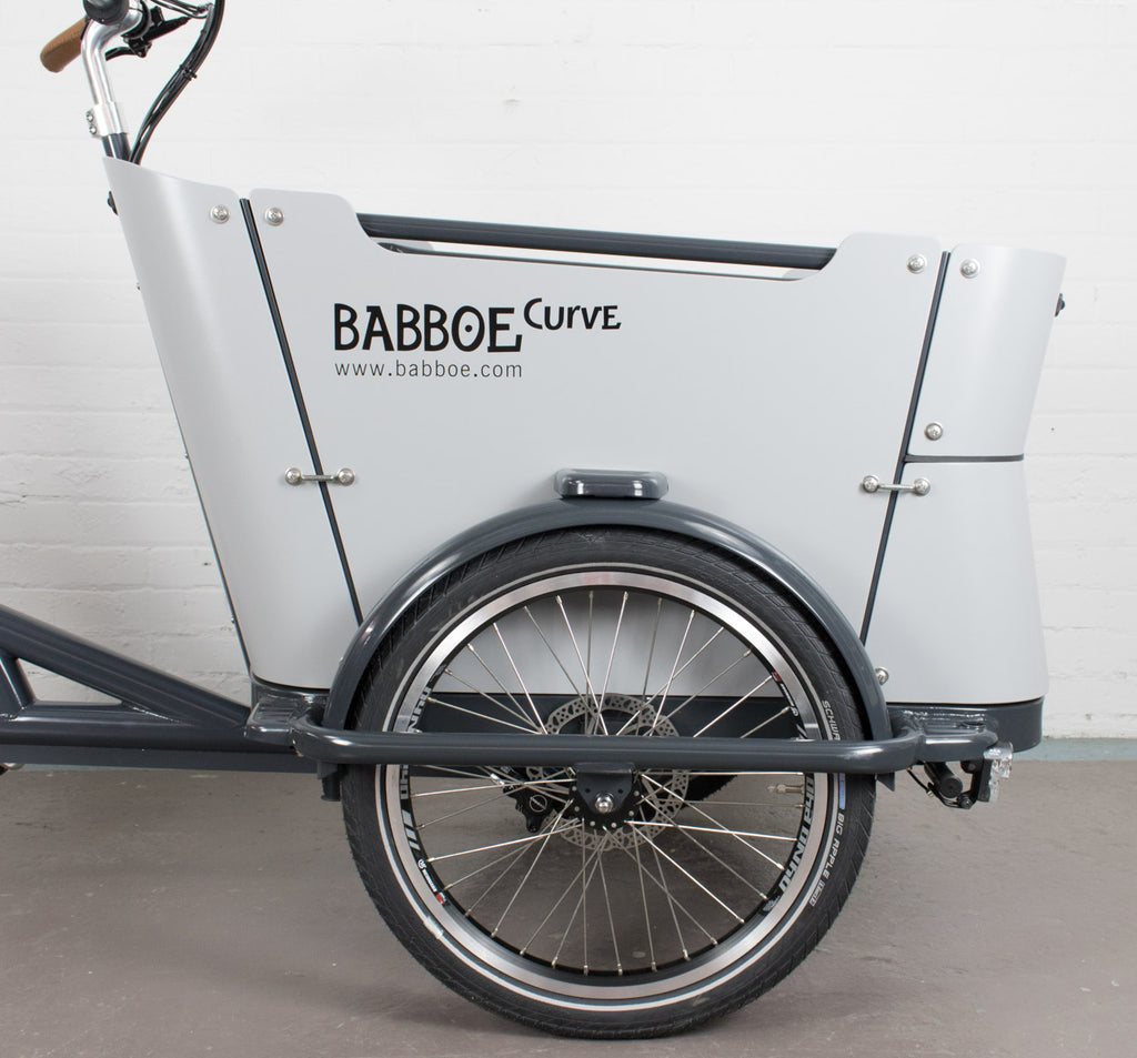 Babboe Curve Mountain Yamaha Equipped Three Wheeled Cargo Bike