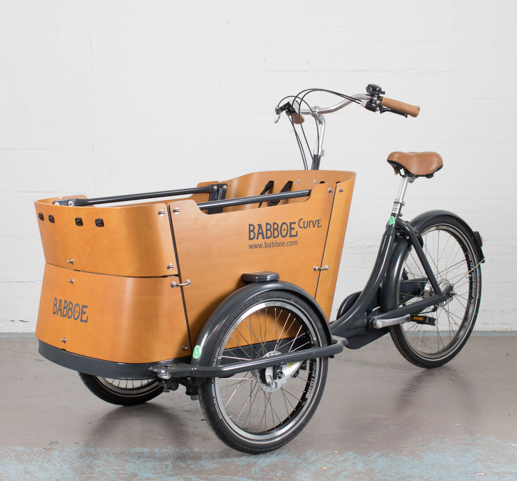 Babboe Curve Three Wheeled Cargo Bike