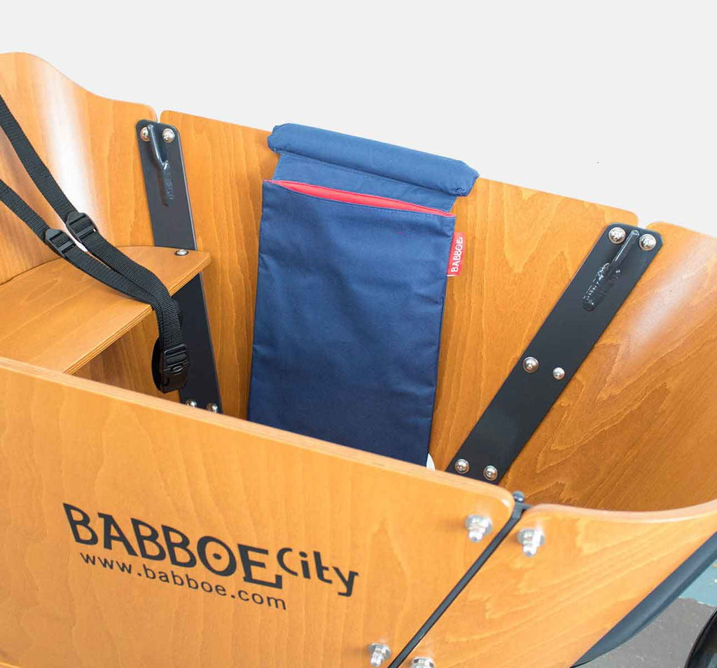 Babboe Side Storage Pocket for City and Big in Blue