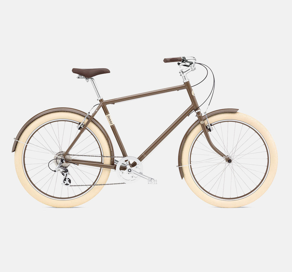 Benno Ballooner 8D Roadster Cacao City Bike