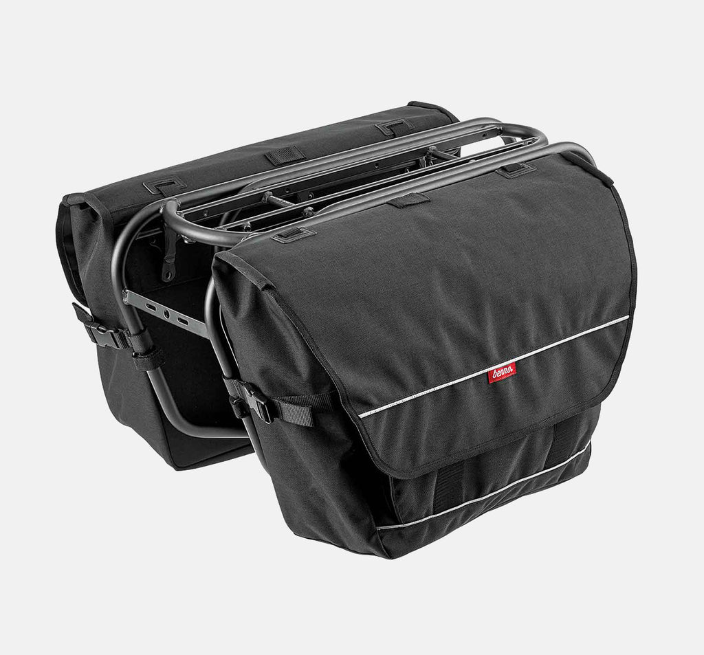 Benno Utility Pannier Bag in Black