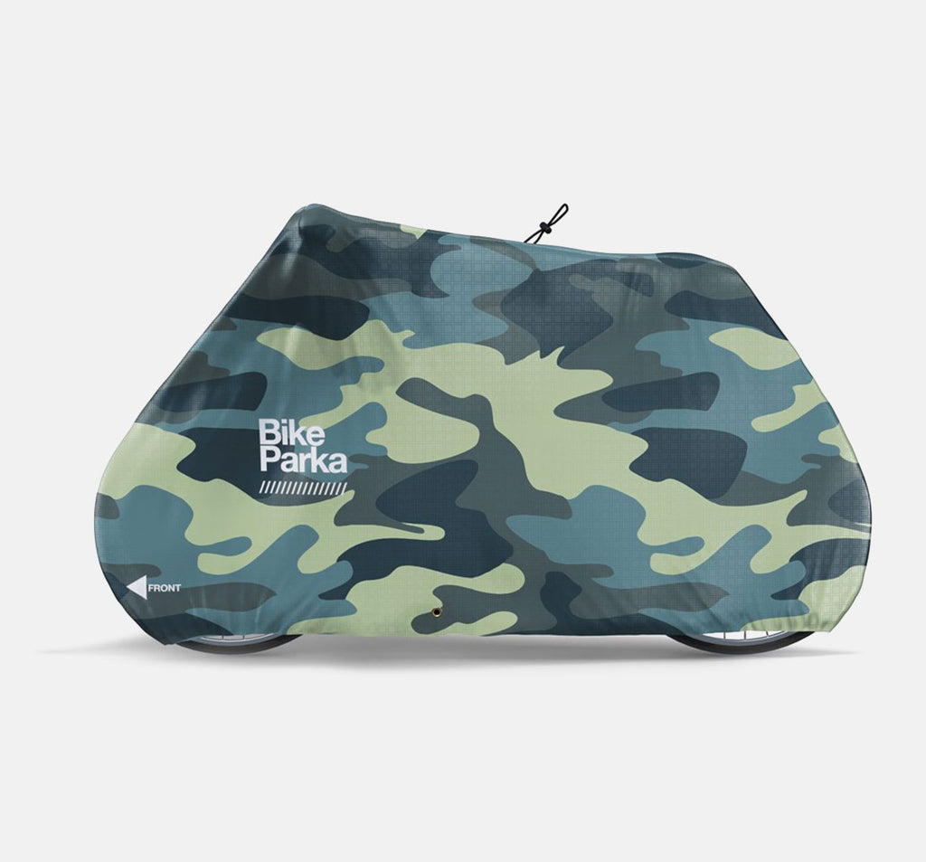 BikeParka Stash Outdoor Bicycle Cover - Camouflage