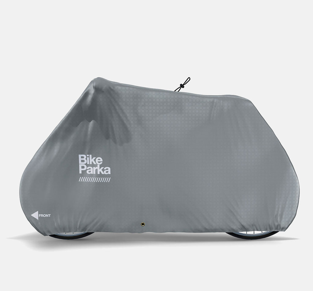 BikeParka Stash Outdoor Bicycle Cover - Pavement Grey