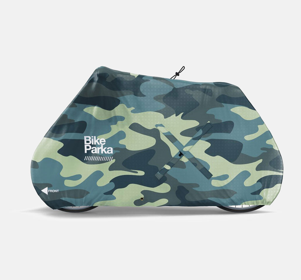 Bike Parka Urban Bicycle Cover - Camouflage