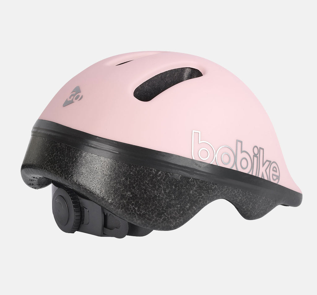 Bobike Go Baby Helmet (Size XXS) in Cotton Candy Pink