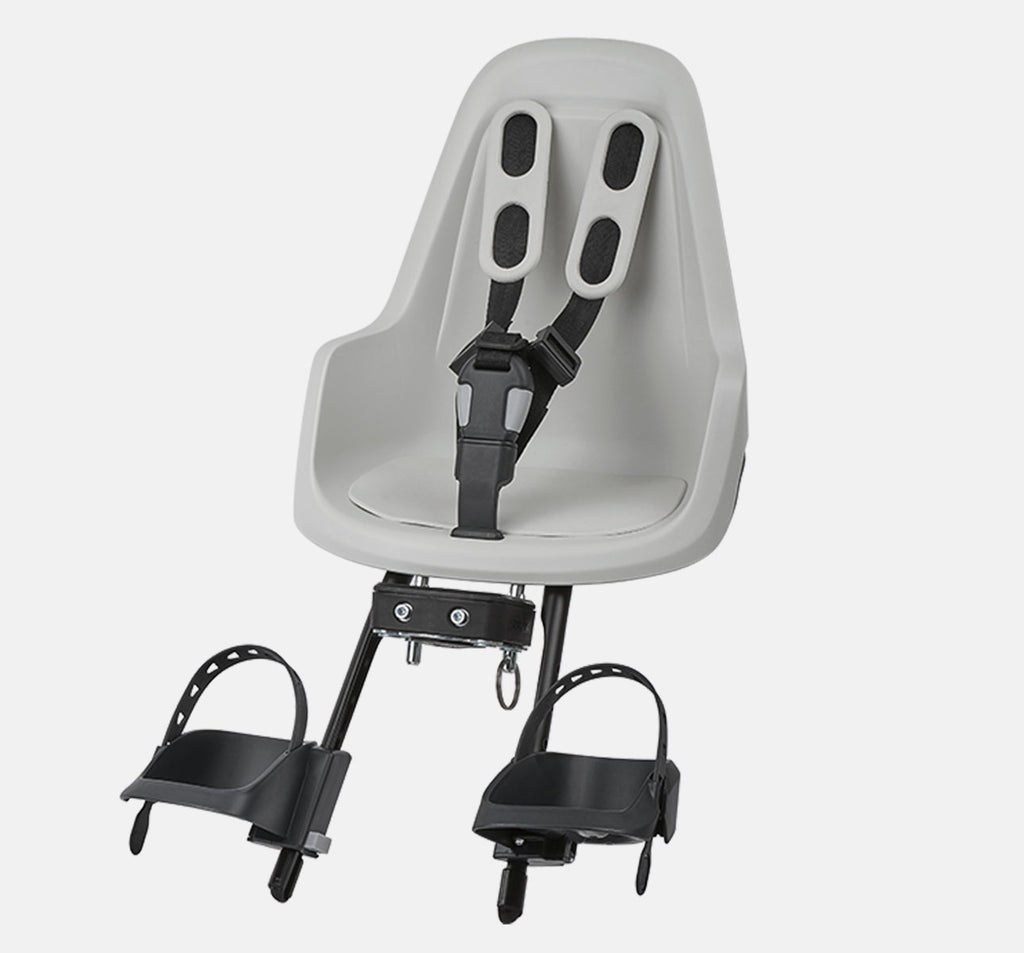 Bobike One Mini Front Baby Seat - Snow White