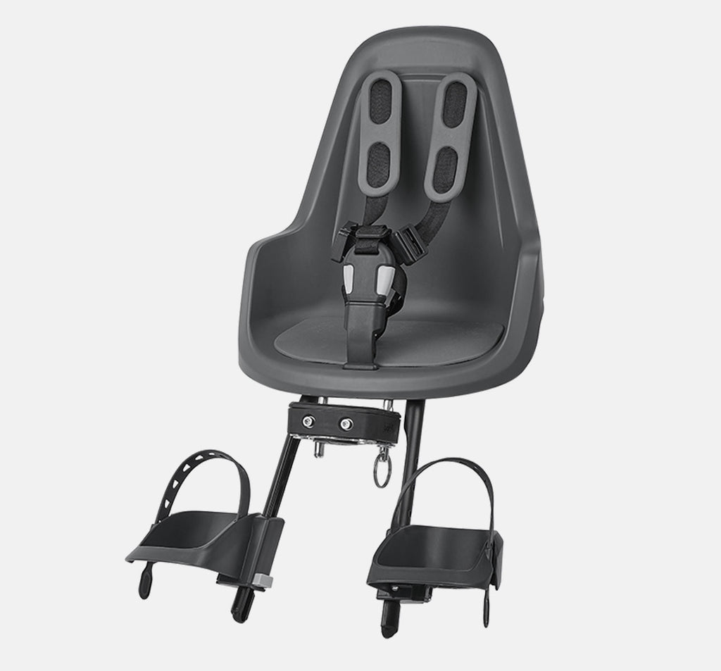 Bobike One Mini Front Baby Seat - Urban Grey
